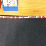 measure bookcase rubbers