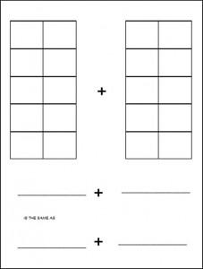 ten frames for C2 addition